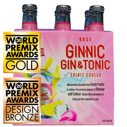 Ginnic Rose 6-Pack