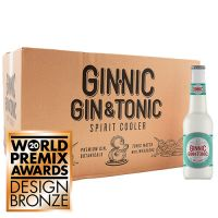 Ginnic Dry Lemon (24x275ml Case)